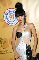 BAI LING at American International Television Festival in Beverly Hills 05/28/2016