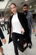 BARBARA PALVIN at Airport in Cannes 05/16/2016