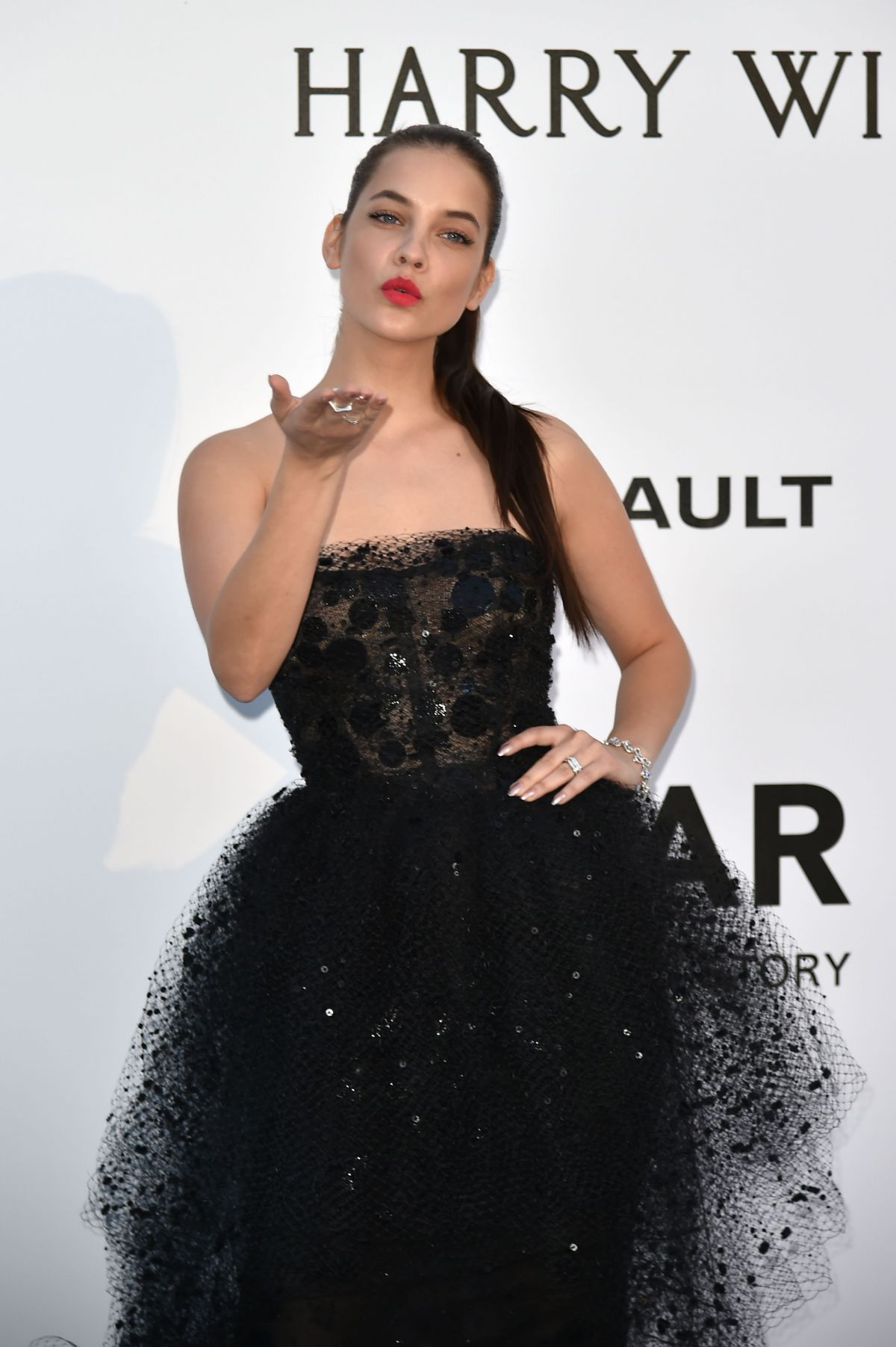 BARBARA PALVIN at Amfar's 23rd Cinema Against Aids Gala in Antibes 05/19/2016