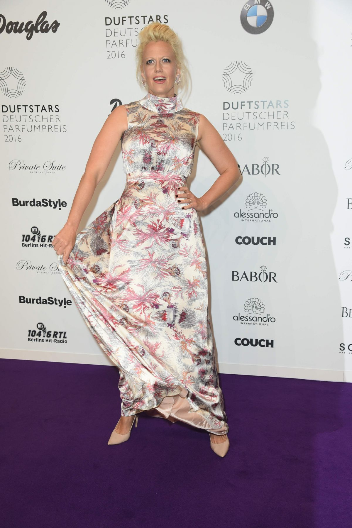 BARBARA SCHONEBERGER at German Perfume Prize in Berlin 05/12/2016