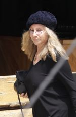 BARBRA STREINSAND Out for Lunch at Sugarfish in Beverly Hills 05/10/2016