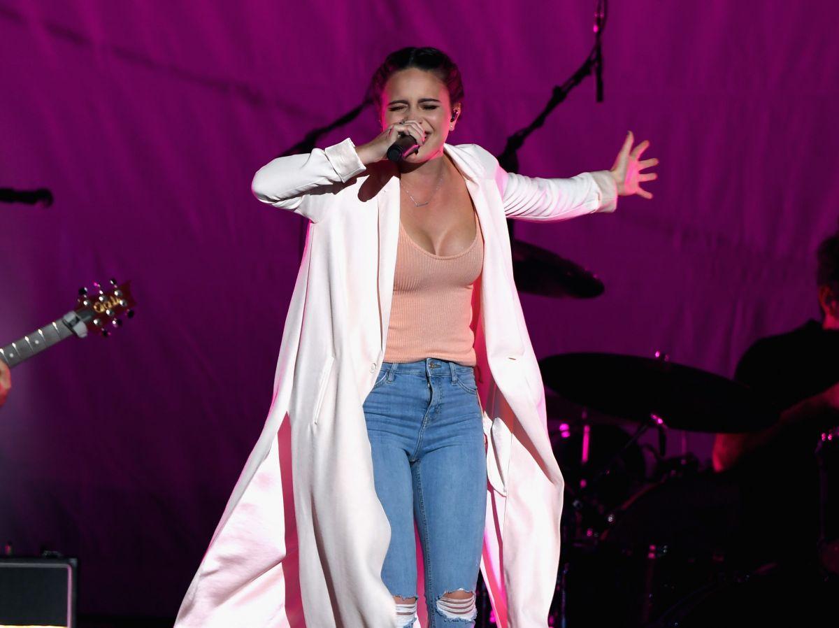 BEA MILLER Performs at Selena Gomez