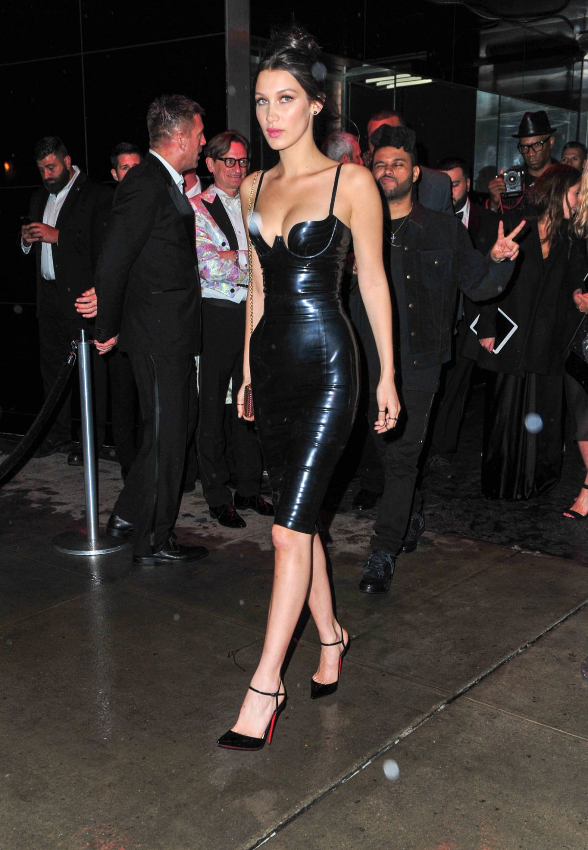 BELLA HADID at Met Gala After-party in New York 05/02/2016