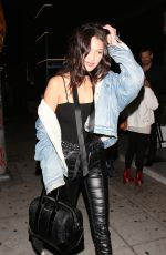 BELLA HADID at Nice Guy in West Hollywood 05/23/2016