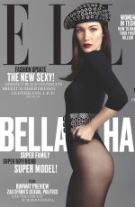 BELLA HADID in Elle Magazine, June 2016 Issue