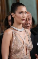 BELLA HADID Leaves Hotel Martinez in Cannes 05/11/2016