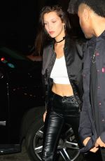 BELLA HADID Night Out in New York 04/30/2016