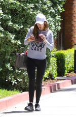 BELLA THORNE in Tights Out in Studio City 05/02/2016