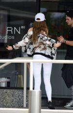 BELLA THORNE Leaves a Gym in Los Angeles 05/15/2016