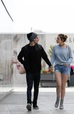 BELLA THORNE Out and About in Culver City 05/20/2016