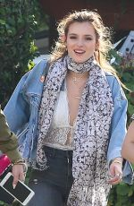 BELLA THORNE Out and About in Los Angeles 04/20/2016