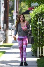 BELLA THORNE Out and About in Studio City 05/01/2016