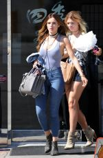 BELLA THORNE Out in Century City 05/02/2016