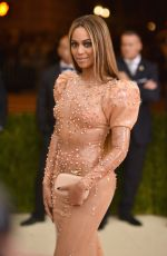 BEYONCE at Costume Institute Gala 2016 in New York 05/02/2016