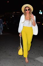 BEYONCE KNOWLES Night Out in New York 05/26/2016