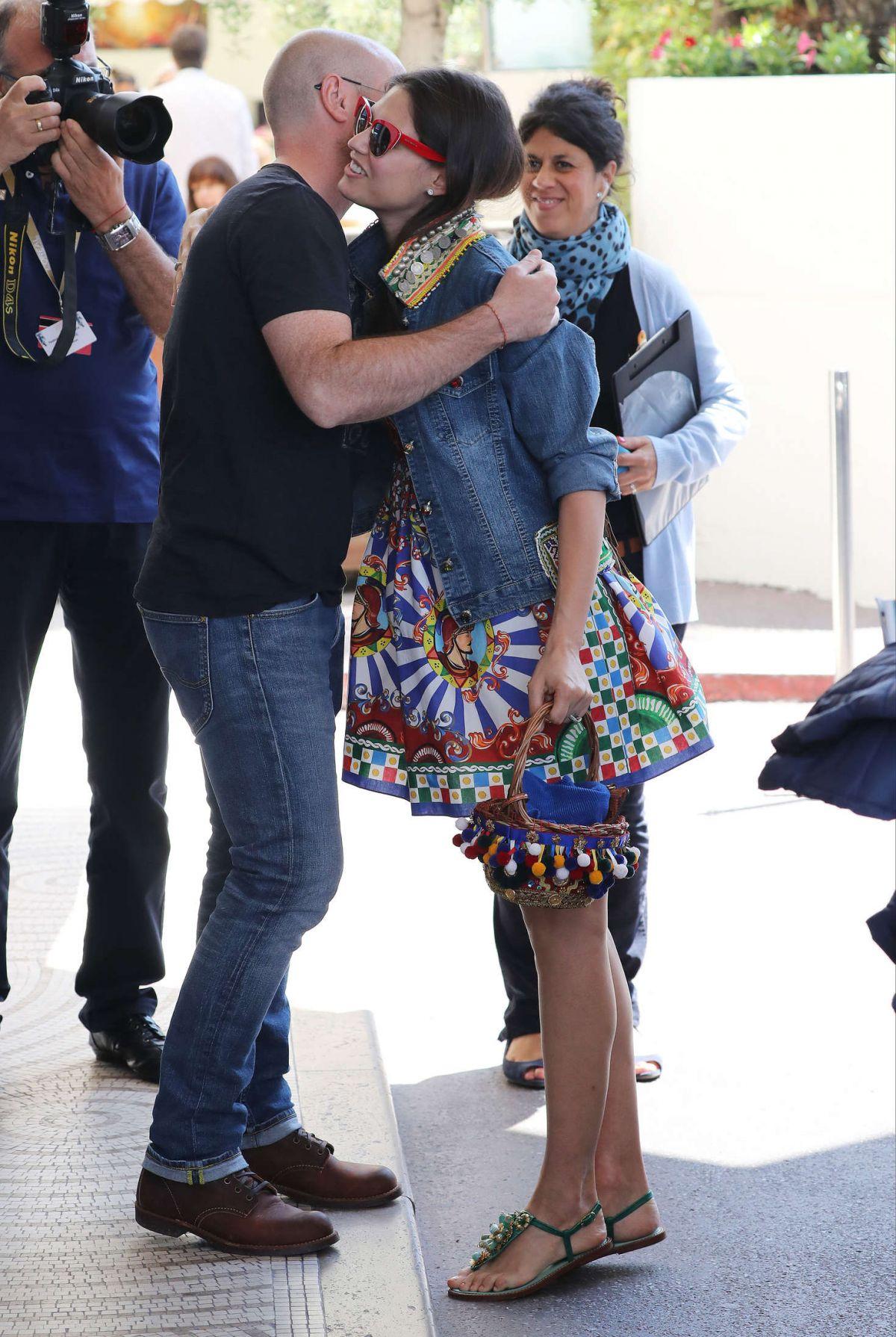 BIANCA BALTI at Martinez Hotel in Cannes 05/16/2016