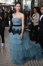 BIANCA BALTI Leaves Hotel Martinez in Cannes 05/11/2016