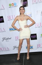 BIANCA BLANCO at Blla Magazine Cover Party at Sur Restaurant in Beverly Hills 05/21/2016