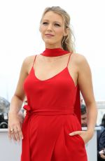 BLAKE LIVELY at 'Cafe Society' Photocall at 2016 Cannes Film Festival 05/11/2016