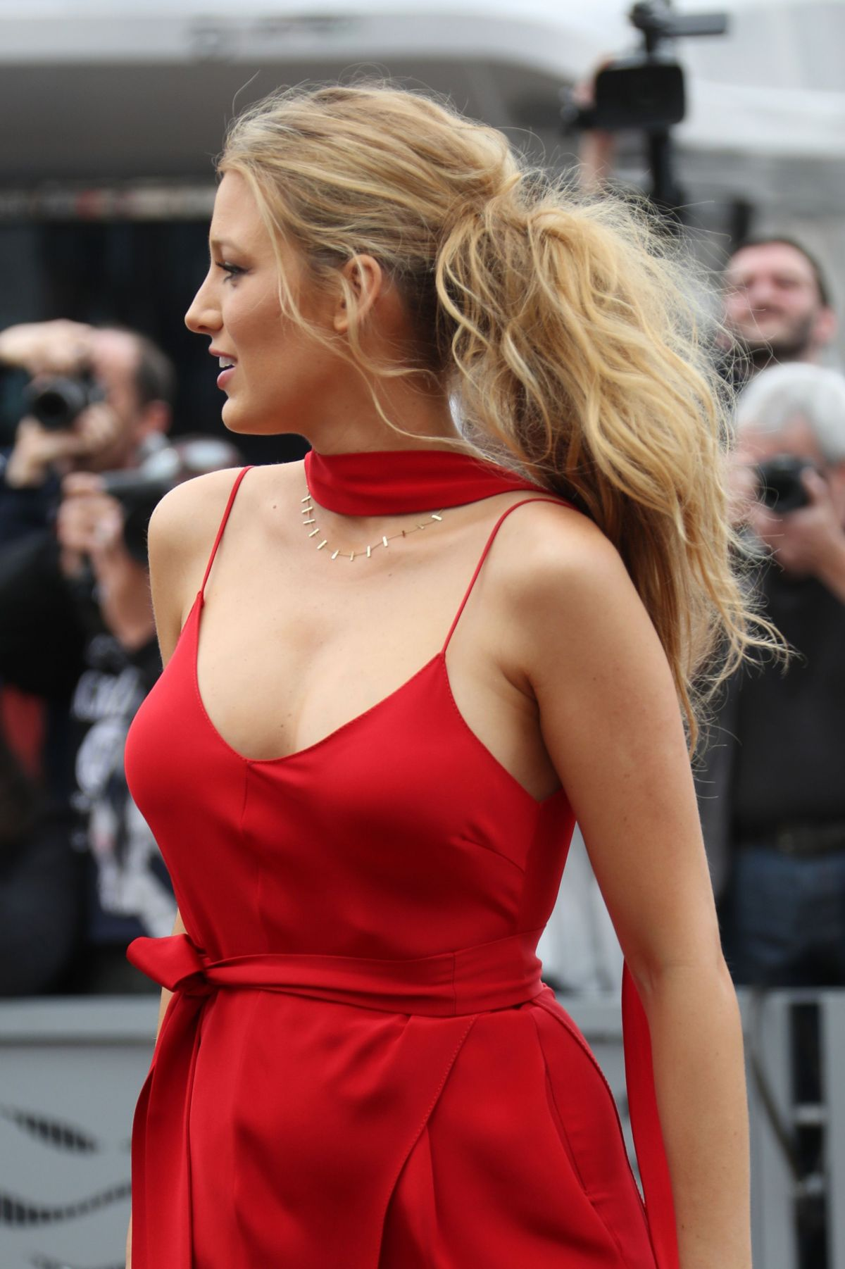 BLAKE LIVELY at 'Cafe Society' Photocall at 2016 Cannes ...