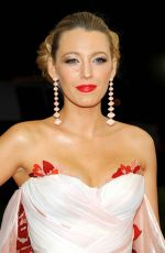 BLAKE LIVELY at Costume Institute Gala 2016 in New York 05/02/2016