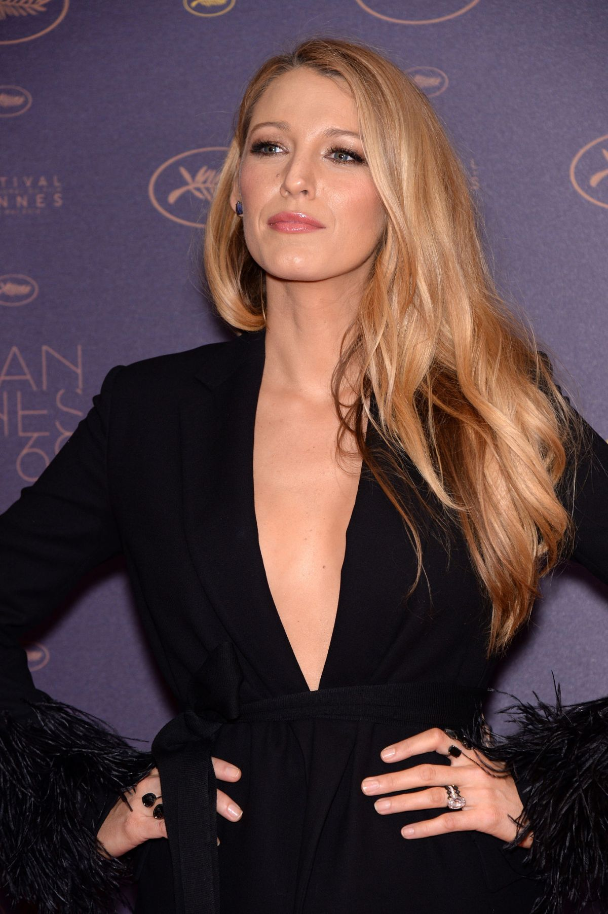 BLAKE LIVELY at Opening Gala Dinner at 69th Annual Cannes ...