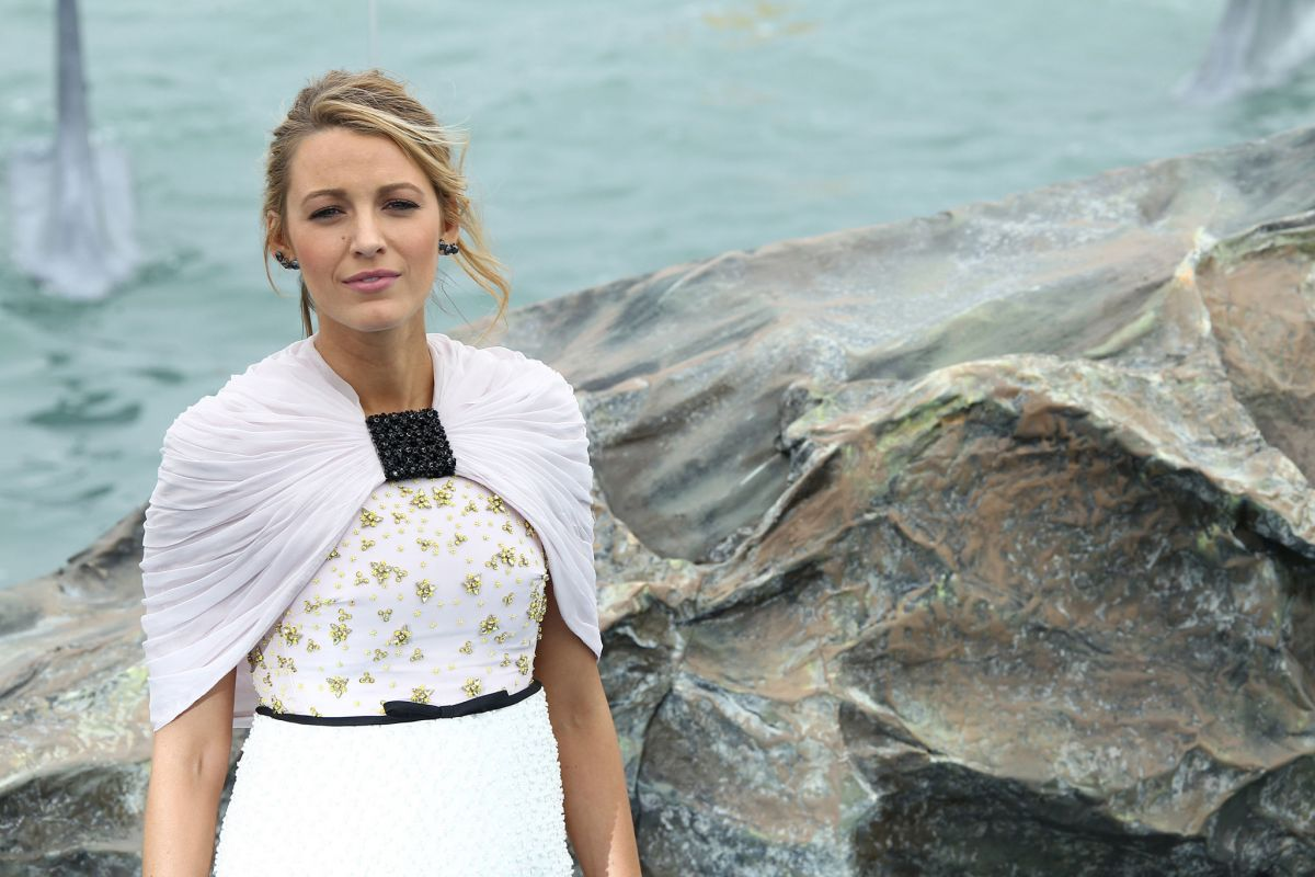 BLAKE LIVELY at 'The Shallows' Photocall at 2016 Cannes ... Blake Lively Shallows