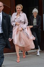 BLAKE LIVELY Leaves Her Hotel in New York 05/02/2016
