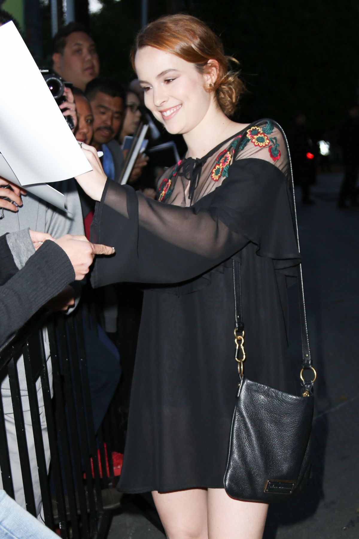 BRIDGIT MENDLER at Chateau Marmont in West Hollywood 04/29/2016