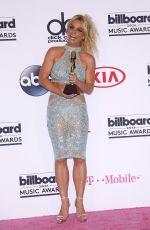 BRITNEY SPEARS at 2016 Billboard Music Awards in Las Vegas 05/22/2016