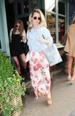 CAGGIE DUNLOP at Ivy Chelsea Gardens in London 05/01/2016