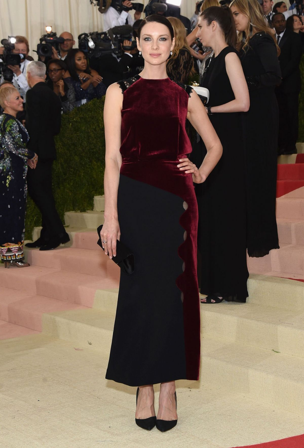 CAITRIONA BALFE at Costume Institute Gala 2016 in New York 05/02/2016