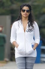 CAMILA ALVES Out and About in Los Angeles 05/01/2016