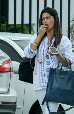 CAMILA ALVES Out and About in Los Angeles 05/06/2016