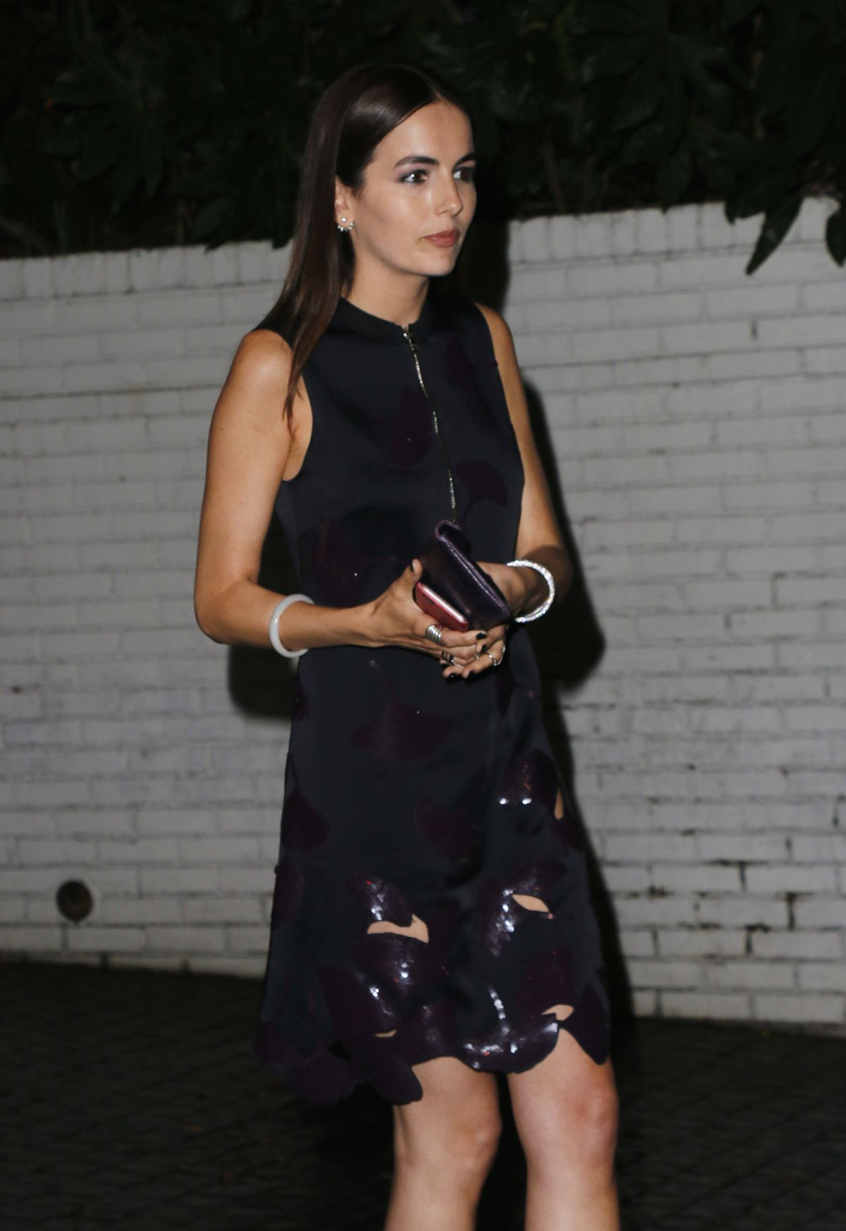 CAMILLA BELLE at Chateau Marmont in Los Angeles 05/19/2016