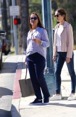 CAMILLA BELLE Out with a Friend in Los Angeles 05/12/2016