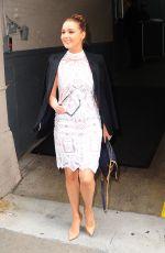 CAMILLA LUDDINGTON at AOL Studios in New York 05/09/2016