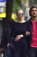 CANDICE SWANEPOEL Out and About in New York 05/13/2016