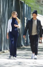 CANDICE SWANEPOEL Out and About in New York 05/18/2016