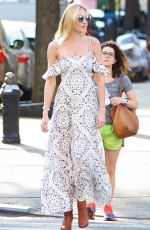 CANDICE SWANEPOEL Out in New York 05/11/2016