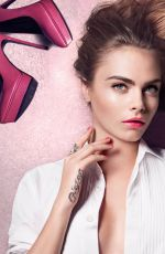 CARA DELEVINGNE by Craig McDean for Yves Saint Laurent 2016 Campaigns
