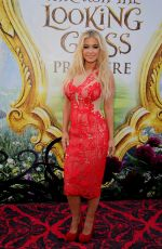 CARMEN ELECTRA at Alice Through the Looking Glass Premiere in Hollywood 05/23/2016