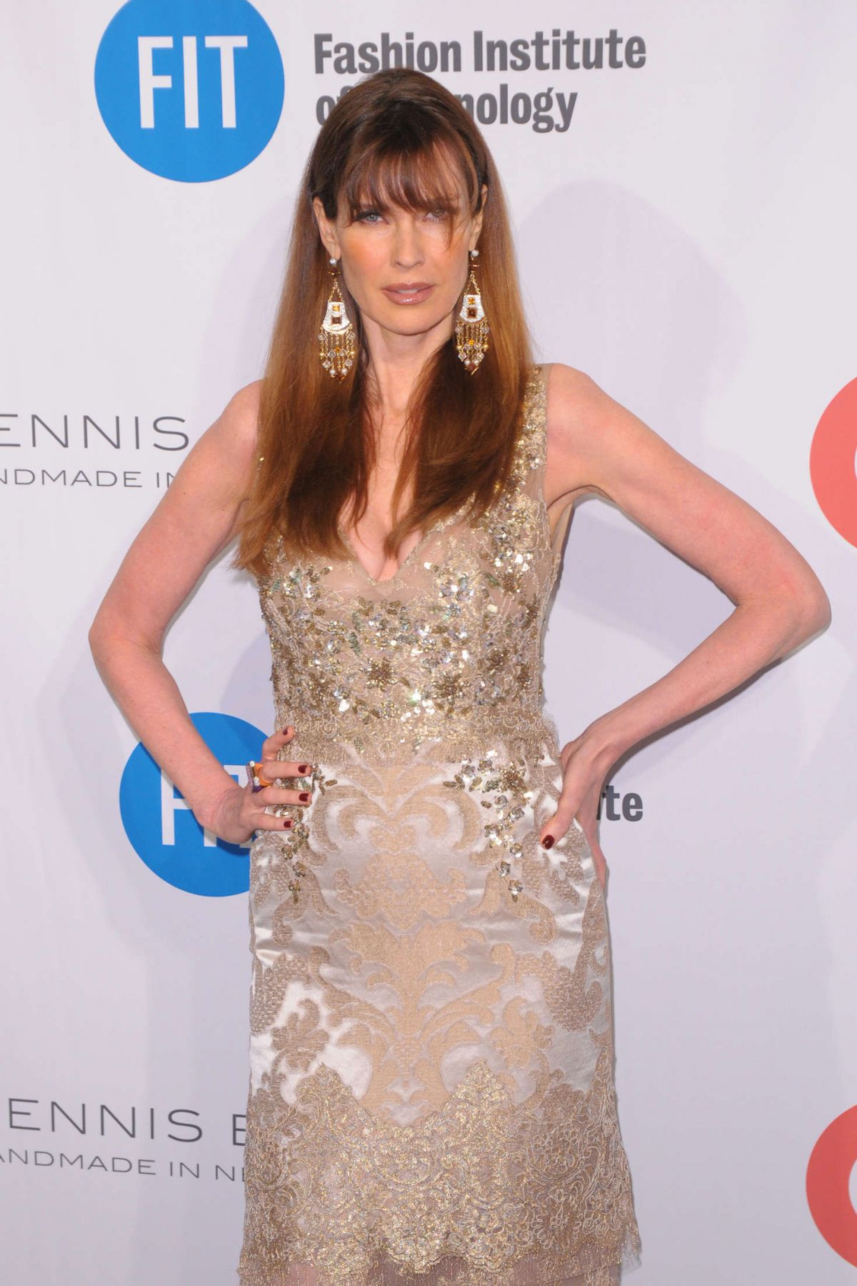 CAROL ALT at Fashion Institute of Technology's 2016 FIT Gala in New York 05/09/2016