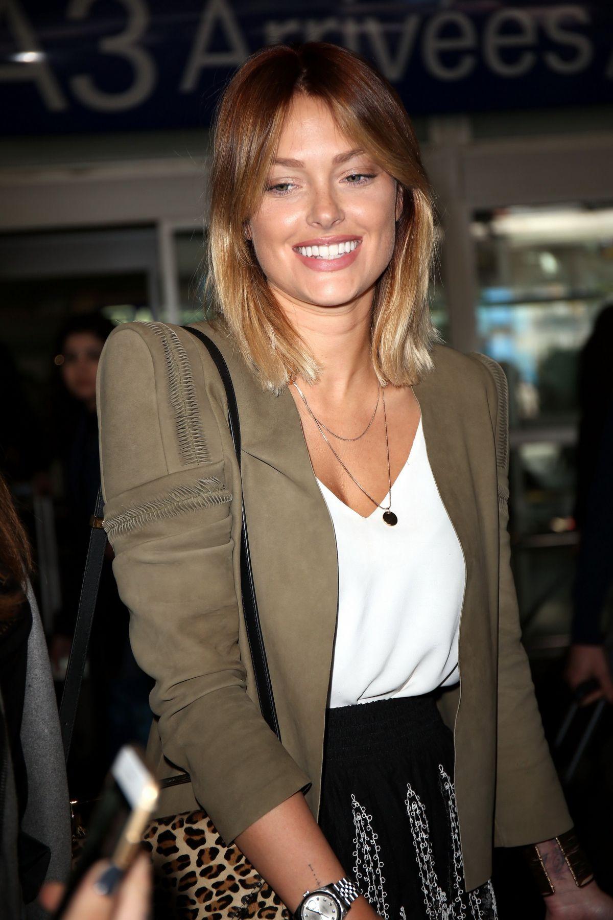 Caroline Receveur At Nice Airport 05 13 2016 Hawtcelebs