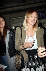 CAROLINE RECEVEUR at Nice Airport 05/13/2016