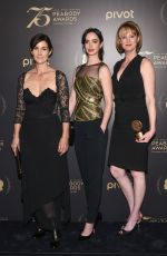 CARRIE-ANNE MOSS at 75th Annual Peabody Awards in New York 05/21/2016