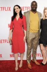 CARRIE-ANNE MOSS at 'Jessica Jones' FYC Screening in Hollywood 05/03/2016