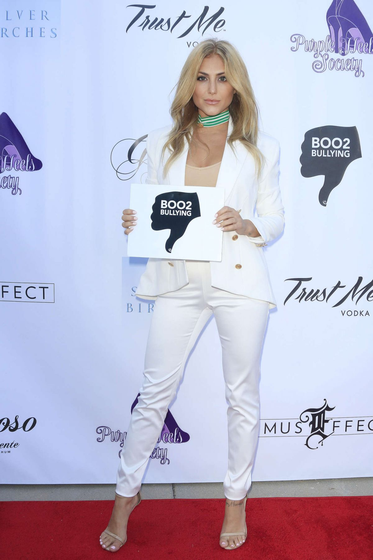 CASSIE SCERBO at boo2bullying Spring Soiree in Los Angeles 05/07/2016