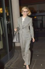 CATE BLANCHETT Arrives at Her Hotel in London 05/24/2016