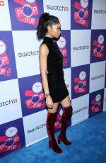CHANEL IMAN at Swatch Times Square Store Opening in New York 05/03/2016